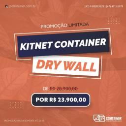 Kitnet em container Dry 20 pés em Promoção