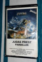 FITA CASSETE JUDAS PRIEST PAINKILLER