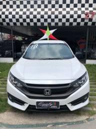 Honda Civic G10 2018 Sport - Único dono - 21km rodados
