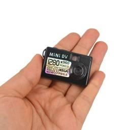 Mini câmera 720 P (não acompanha cartão de memória)