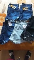 Calças jeans e calções feminino