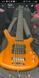 Warwick Corvette Rocky bass Double Buck 5