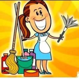 Diarista,baba,domestica,serviços gerais
