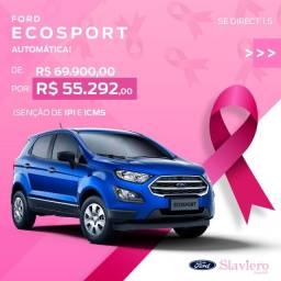 Ford Ecosport SE Direct 1.5 AT 2021 0KM - Desc. para Isenção Impostos IPI/ICMS