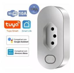 Tomada Inteligente WiFi Tuya Ekaza Smart Life funciona com Alexa e Google Assistente