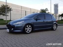 Peugeot 307 1.6 - Ano 2009 - Top + Fixa nova + Teto - Barbada