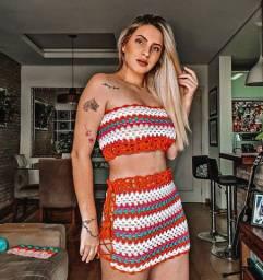 Conjunto de crochê verão