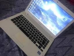 Notebook sansung i3 3120m 2.5ghz 4gb ram c/ hd ssd ultra rapido troco ou vendo