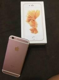 IPhone 6s 32gb ouro rose novíssimo na caixa completo c/ nota