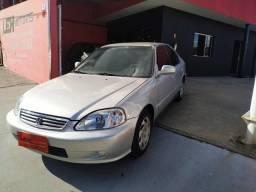 Honda civc lx 1999 carro maravilhoso não paga mais ipva e completo!!
