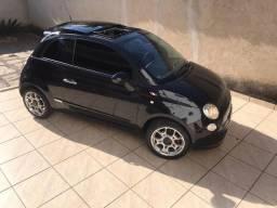 Vendo Fiat 500 sport completo com roda 17