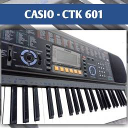*TROCO EM XBOX* CASIO CTK 601 ( 61 TECLAS SENSITIVAS)