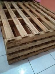 Paletes madeira de eucalipto