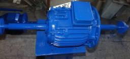 Politriz de bancada motor 10 CV, trifasico 1700 RPM