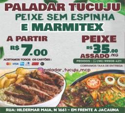 Marmitex a partir de R$7,00