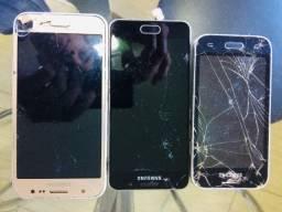 3 aparelhos Celular