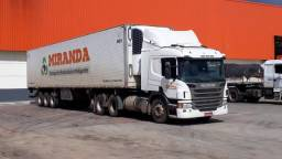 Scania P360 6x2 com carreta Niju Gancheira 28 Paletes