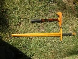 Espadas de madeira para treinos HMB/HEMA ou decorativas
