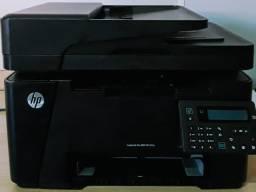 Impressora Multi Laserjet M127 - com toner novo, comp