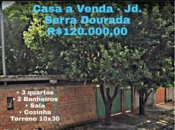 Casa no Jd Serra Dourada rua 7