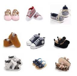 Calçado Masculino e Feminino para Bebê Infantil até 14 Meses
