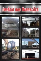 Barracão pré moldados e ESTRUTURAS metálicas