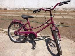 Vendo bicicleta infantil aro 20. Valor 300 reais.