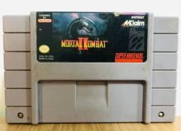 Fita Super Nintendo: Mortal Kombat 2 (original)