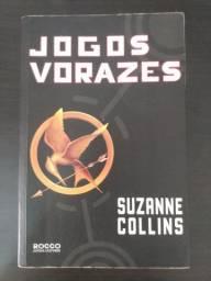 Livro Jogos Vorazes, Suzanne Collins