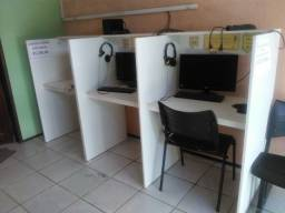Mesa para computador em MDF Naval