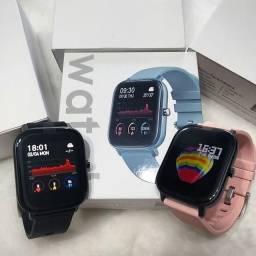 Relógio Smart/Relógio Inteligente P8 Prova D'água