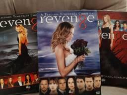 Box DVDs Série Revenge Leia a Descrição