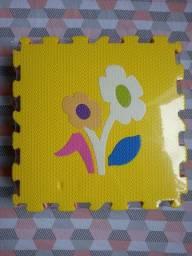 Tapete infantil E.V.A flores novo bairro Santa Amélia