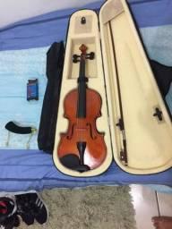 Vend violino Cremona completo usado . Valor 450