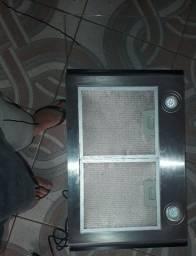 Coifa de Parede Cadence, Inox e Vidro Curvo, 90cm