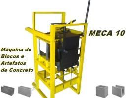 Maquina de blocos e artefatos de concreto Meca 10
