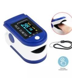 Oximetro dedo com batimentos cardiacos spo2 monitor + brinde