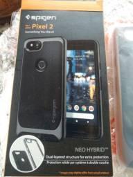 Google Pixel 2 retirada de peças + Case Spigen Neo Hybrid + Bateria