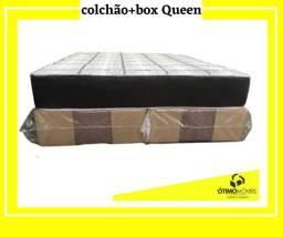Box+Colchão Queen a partir de R$:999,00