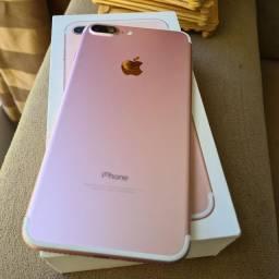 iPhone 7plus 32 GB Rose semi novo 2.280.00