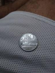 Moeda 50 centavos 1957