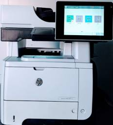 Impressora Multi Hp Laserjet Mfp M525, Semi Nova