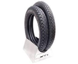 Jogo pneus novos Biz