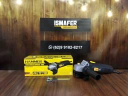 Esmerilhadeira Lixadeira 4 Pol 710w Hammer