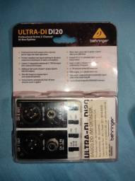 Direct box ativo 2 Canais Behringer Ultra-DI DI20
