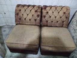 Sofa couro duplo