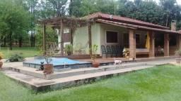 Rancho em Araçatuba 4 quartos com pier privativo