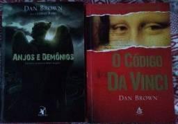 Livros Código da Vinci e Anjos da Noite