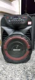 Caixa amplificadora de som amvox
