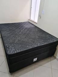Cama de Casal Box Semi-nova